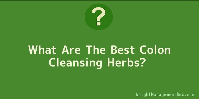What Are The Best Colon Cleansing Herbs