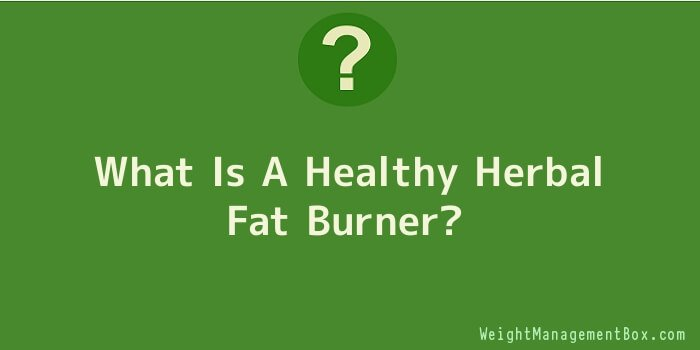 What Is A Healthy Herbal Fat Burner