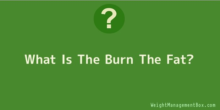 What Is The Burn The Fat